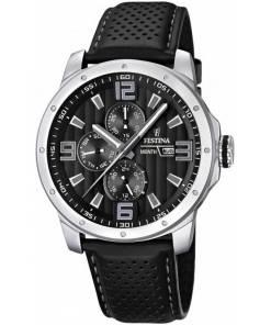 F16585-4 BLACK & WHITE SPORT by EUROPTIME.com